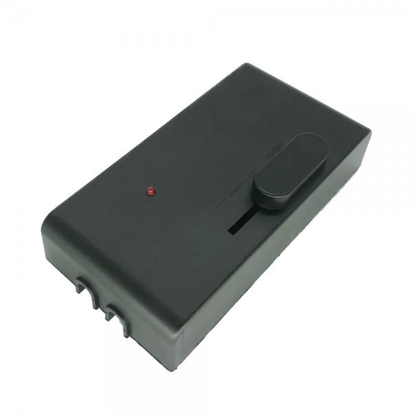 Fußdimmer 300W schwarz 230V Hochvolt Universal Dimmer Schnur-Zwischendimmer Mod.1013