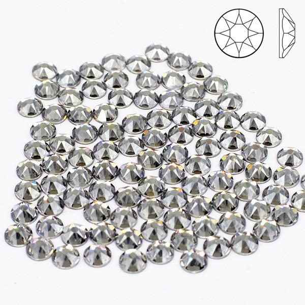100x SWAROVSKI 2088 SS16 Silver Shade Strass-Steine ø 4mm zum kleben NO HOTFIX 001SSHA