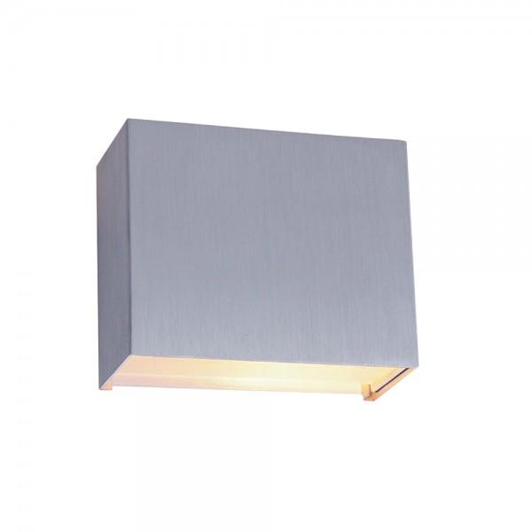 Wandleuchte Edelstahl G9 LED dimmbar warmweiß 460 Lumen 230V Wandlampe Liberstas 1461ST