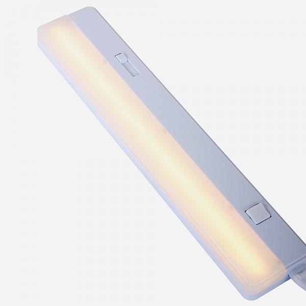 Unterbau Deckenleuchte / Wandleuchte Kunststoff weiß LED dimmbar 5,5W - 7922W