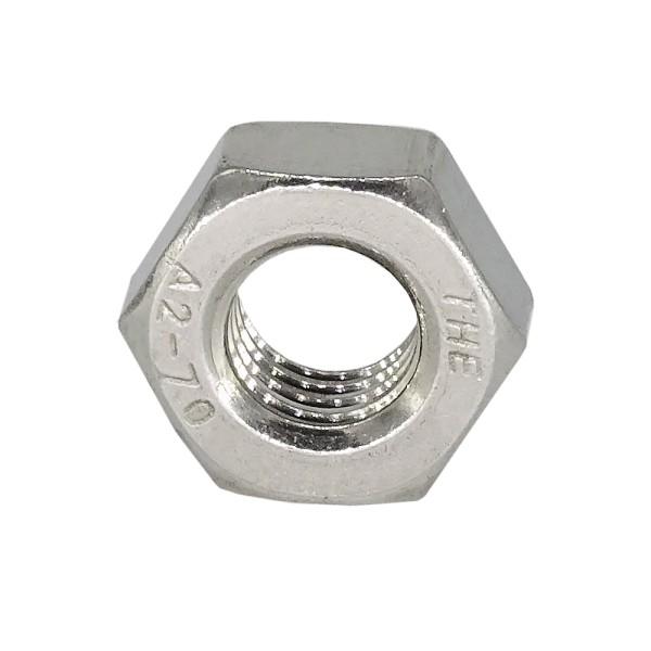 Sechskantmutter M10x1 Edelstahl A2 DIN 934 ISO-Feingewinde DIN 13-5
