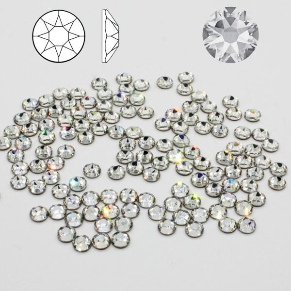12x SWAROVSKI 2088 SS34 Crystal Strass-Steine ø 7mm zum kleben NO HOTFIX 001