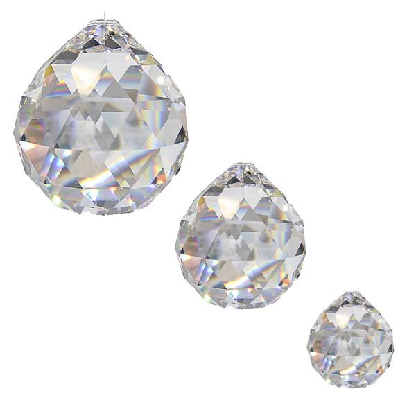 Kristall Sonnenfänger Kugel Set MIRABELLA 3-teilig