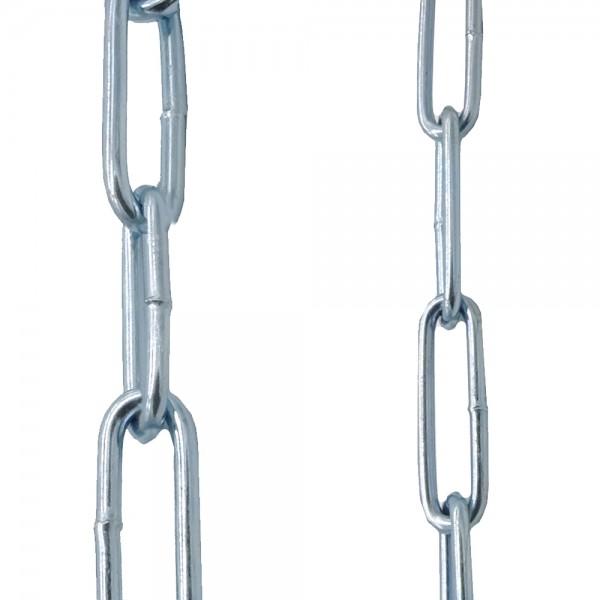 Schweißkette 2/3/4/5/6mm Form-C Eisenkette verzinkt