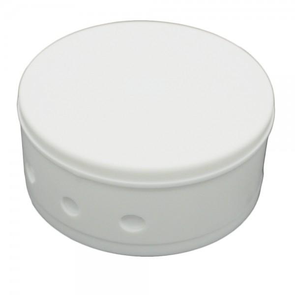 Verteilerbaldachin 70x31 2tlg. mit Zubehörset weiß
