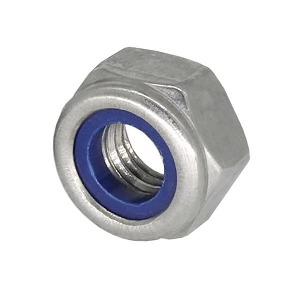 Sicherungsmutter M8 DIN 985 Edelstahl A2 Rostfrei im Blister 10 Stück