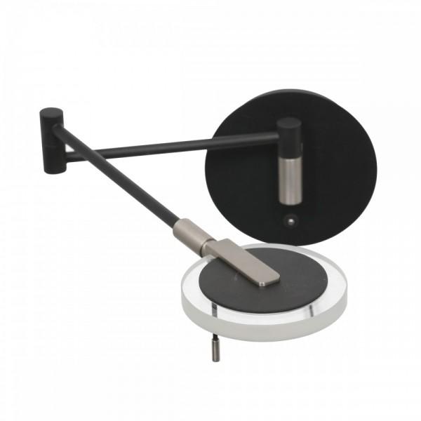 Moderne Wandleuchte TOROUND Schwarz matt 10W LED 2733ZW