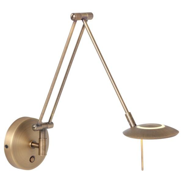 Scherenleuchte Zodiac Bronze LED 6W ziehharmonika Wandleuchte 2110BR