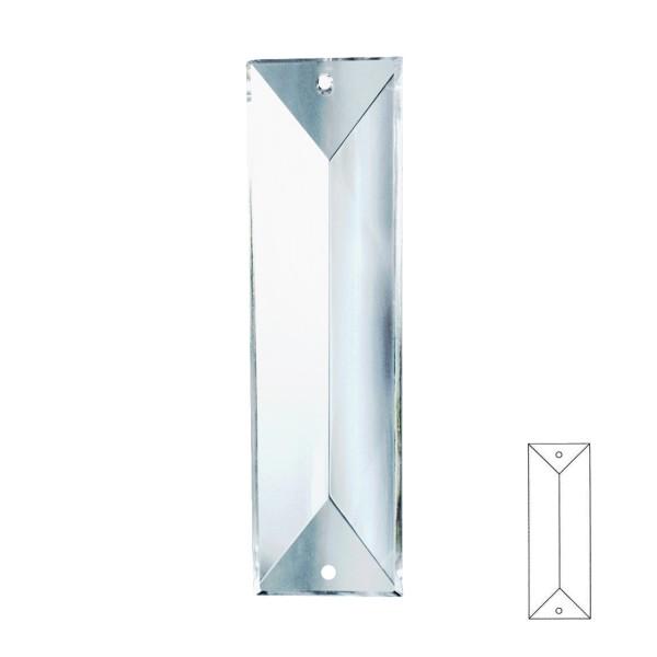 Kristall X-Prima 63 / 76 / 100mm 2- Loch kristallklar Nr. 610