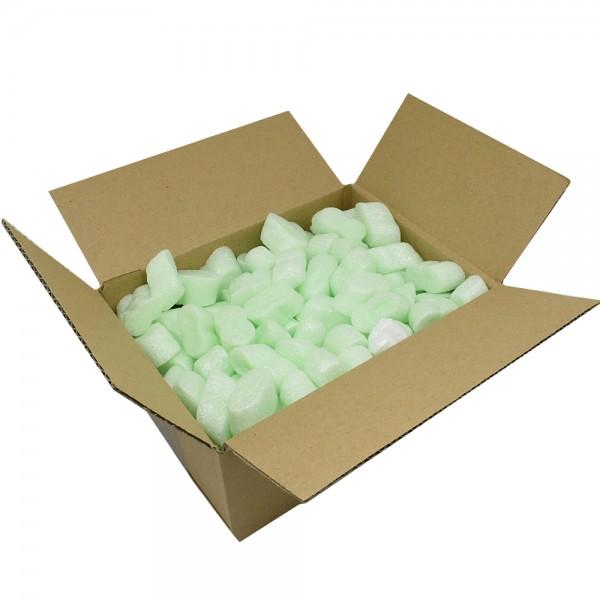 12,5 Liter Verpackungschips Flo-Pack Green Füllmaterial Grün Polstermaterial für hohen Produktschutz