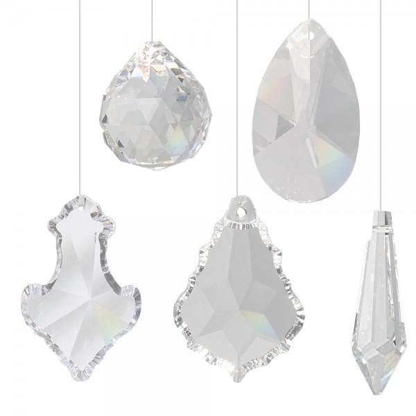 Kristall SANTINO Set 5-teilig inkl. Aufhängeset